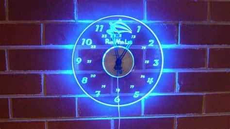 led acrylic edge lighting ghqp project acrylic led edge lit wall clocks