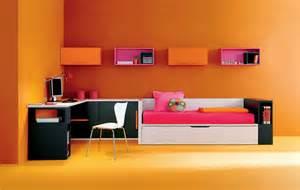 Room Builder Dormitorio Juvenil Con Puente Cama Compacto Armario De