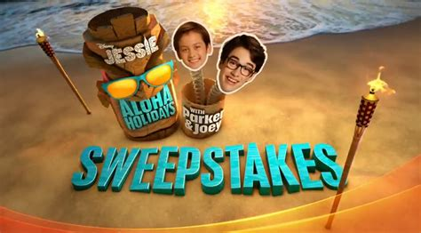 Www Disney Channel Com Sweepstakes - disney jessie s aloha holidays with parker joey sweepstakes disneychannel com aloha