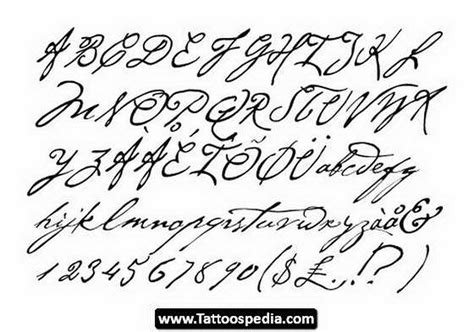cursive tattoo font generator pin cursive fonts for tattoos generator 5587303