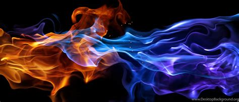 blue fire wallpapers hd desktop background