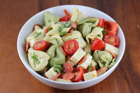 cold salad ideas tortellini salad recipe cooking and recipes
