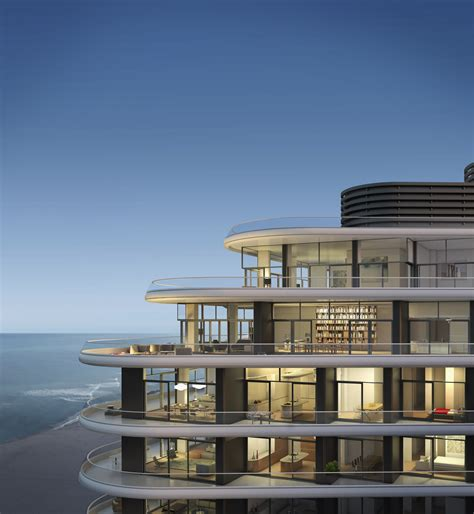 condo house foster partners release images of luxury condo in miami archdaily