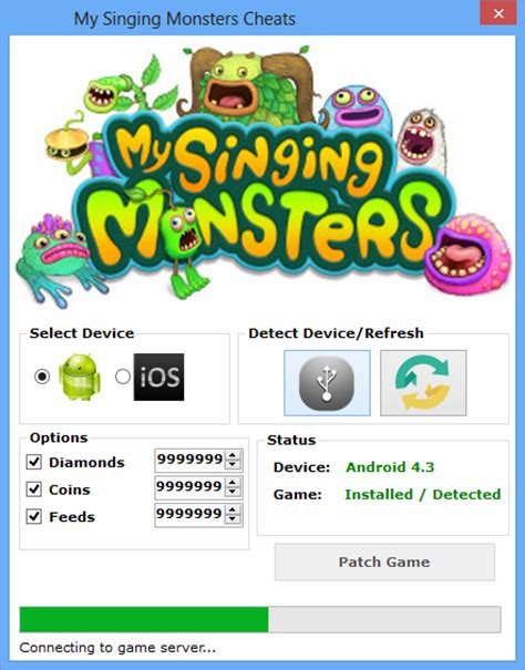 my singing monsters apk hack my singing cheats hack tool