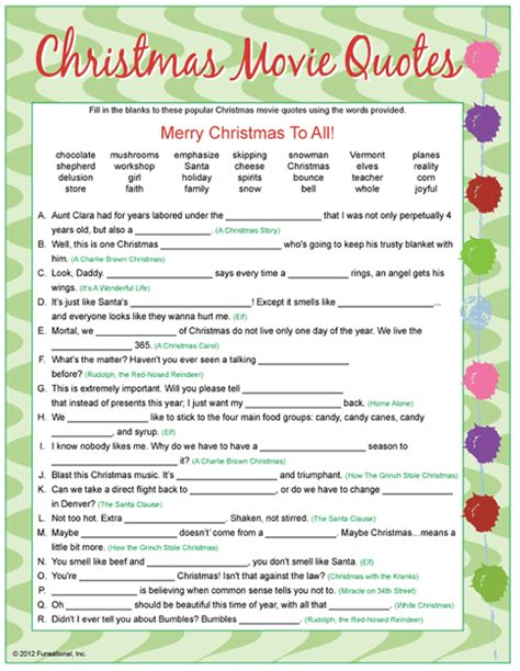 printable christmas party games for work happy weekend links to love holiday entertaining