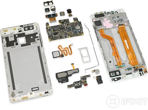 Ready Asli Ori Vivo V7 Huawei P9 Teardown Shows Design Similarities To Iphone