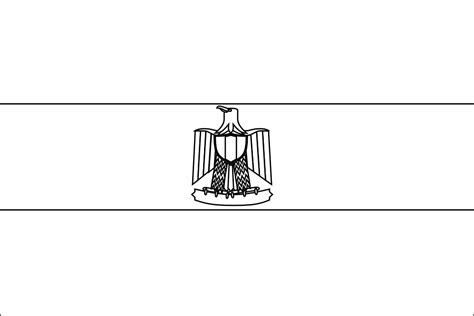 coloring page egypt flag egypt flag coloring page coloring home