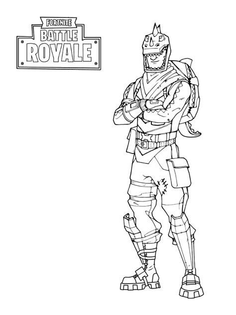 Fortnite Coloring Pages - GetColoringPages.com