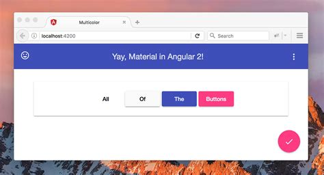 Getting Started With Angular Material 2 Alligator Io Angular Material Design Template