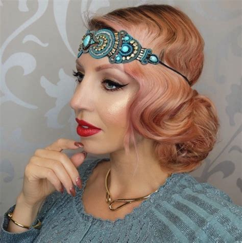 1920 Inspired Hairstyles by 1920s Inspired Hair Www Pixshark Images