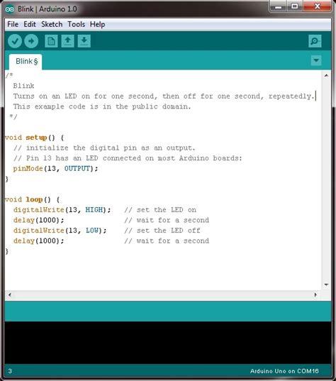 Code Arduino Blink | arduino 5 minute tutorials lesson 2 basic code blink