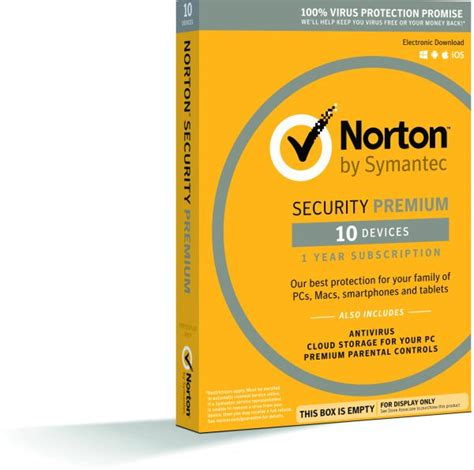 Anti Virus Premium symantec norton security premium 10 devices 1 year