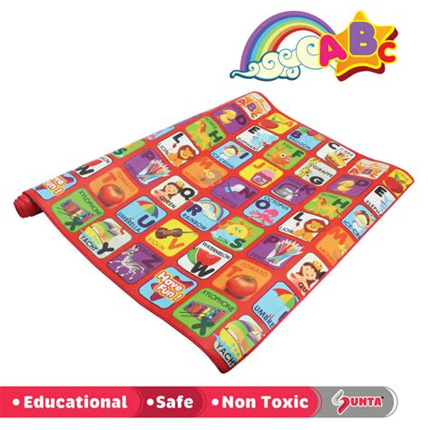 Printed Mat by Alphabet H Trf Printed Roll Mat Kiyobaby