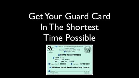 card courses how to become a security guard in california guard card