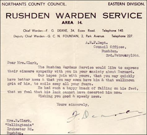Permission Letter To Hostel Warden Rushden Research Clark