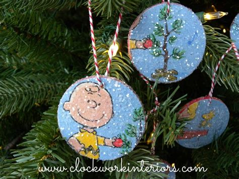 charlie brown christmas crafts simple craft for the kiddos brown ornaments by clockworkinteriors