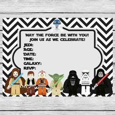 1000 ideas about star wars invitations on pinterest