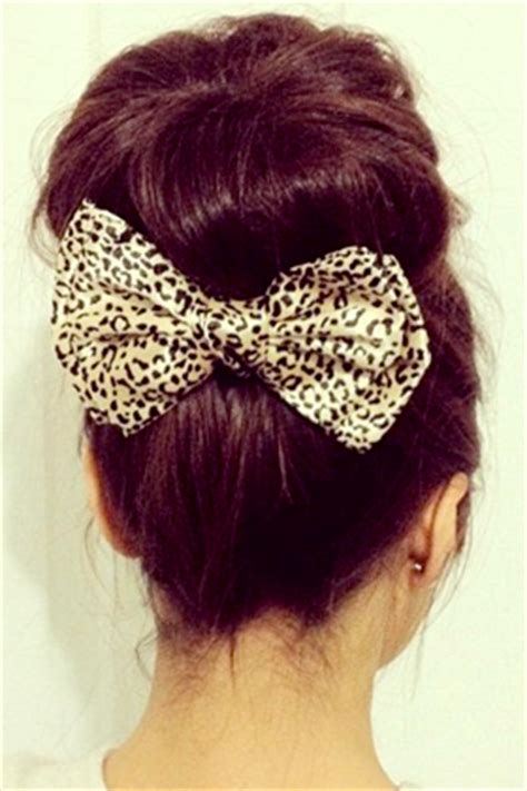 Hairstyles Accessories Bun With Socks by Accent The Back Of Your Hair With A Bow Pin 7 Hair