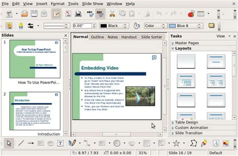 Open Office Powerpoint by Libre Office Mit Word Kompatibel