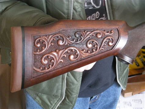 teds woodworking plans  hand carved wood gun stocks