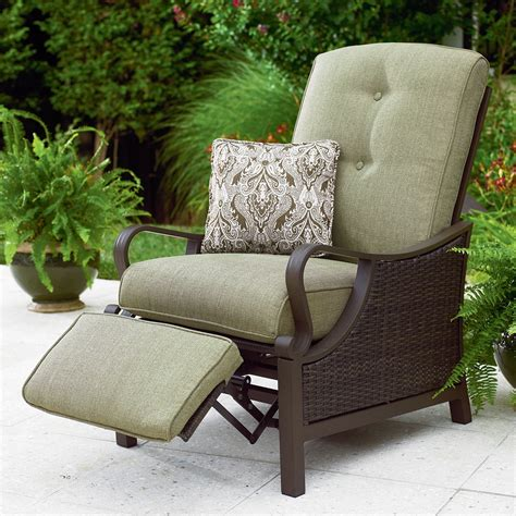 Outdoor Patio Recliner Chairs La Z Boy Outdoor Peyton Recliner Limited Availability Shop Your Way Shopping Earn