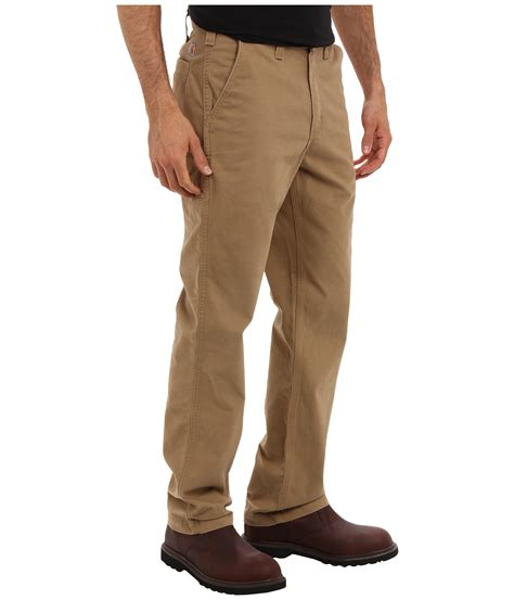 rugged work clothes carhartt rugged work khaki at zappos