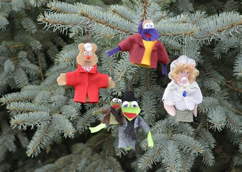 muppets holiday ornaments diy craft