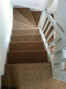 treppen teppich sisal sisal teppich treppenhaus verlegen stufenmatte