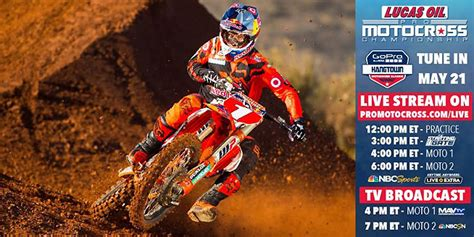 lucas oil pro motocross 2016 lucas oil pro motocross tv schedule dirt bikes