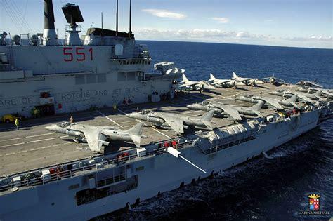 portaerei giuseppe garibaldi navi e armatori approdi di passione
