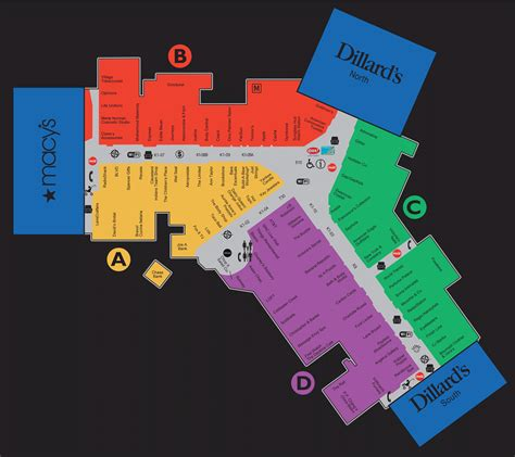 Simon Gift Card Mall Locations - mall map of summit mall a simon mall fairlawn oh