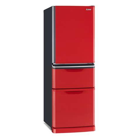 mitsubishi electric mr mr c375g r a two drawer 375 fridge mitsubishi electric