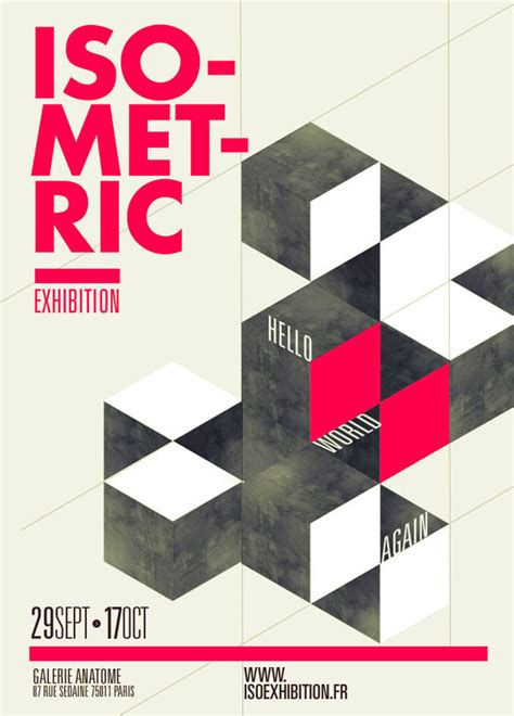 poster design gallery graphic poster designs by thomas ciszewski for isometric