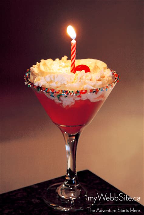 birthday martini birthday cake martini thehomoculture com