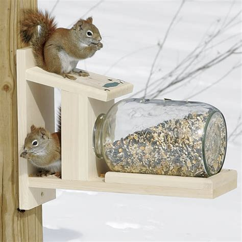 Squirrel Feeder Jar duncraft duncraft 5729 squirrel jar feeder
