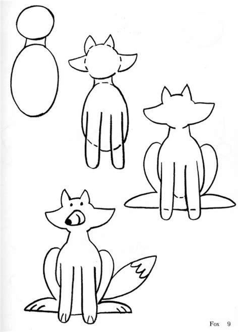 imagenes de un zorro para dibujar faciles dibujar paso a paso un zorro