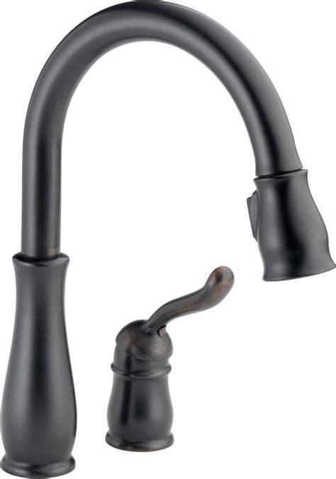 delta 978 rb dst leland single handle pull down kitchen upc 034449578141 delta 978 rb dst venetian bronze leland