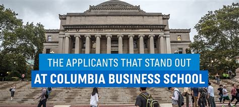 Cross Registration Columbia Mba by Are You What Columbia Business School Is Looking For