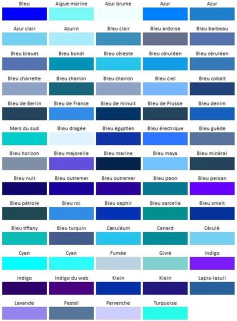 Nuances De Bleus by Couleur Bleu Codes Et Signification Actualit 233 S Du Net