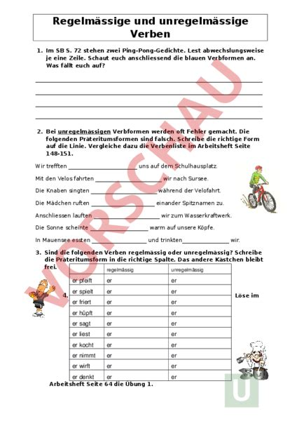 Www Unterrichtsmaterial Ch Grammatik Pr 195