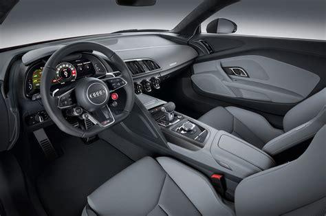 Audi R8 Innenraum by 2017 Audi R8 V10 Plus Interior Photo 9