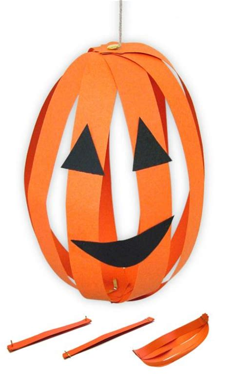 Pumpkin Construction Paper Crafts - paper o lanterns family crafts