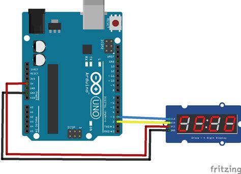 arduino code library b4r arduino tm1637 7 segment display exle 171 get micros