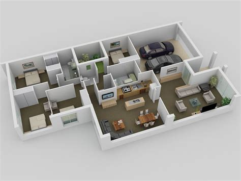 create 3d floor plan the small house plan 3d this for all