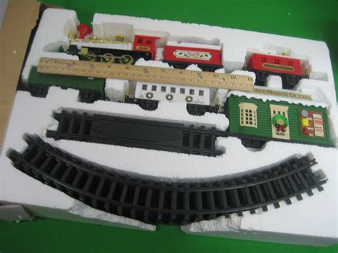 santa s musical express train set bright electronic music