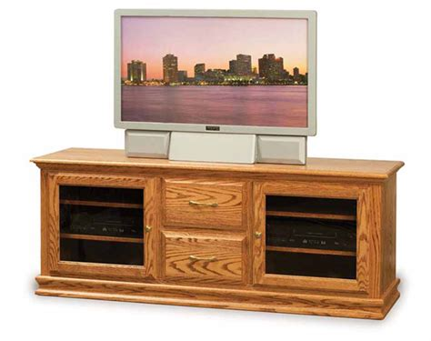 amish mission rustic tv stand plasma flat screen cabinet heritage 062 65 quot tv stand amish furniture factory
