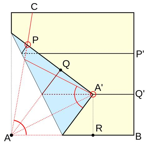 Origami In Mathematics - file origami trisection of an angle svg wikimedia commons