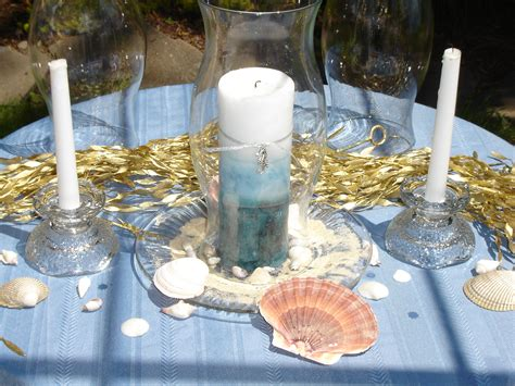 beach theme centerpiece santiam place s blog