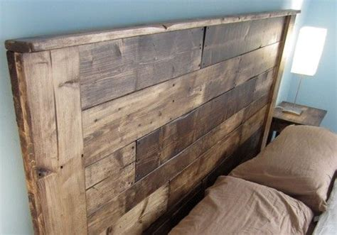 build a king sized pallet headboard diy projects to try