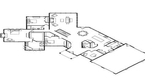 one story log home floor plans single story log home floor plans one story log home kits